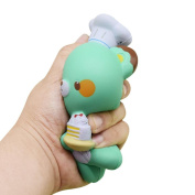 Youngnet Chef Bear Squishy Slow Rsing Toy Party Favours