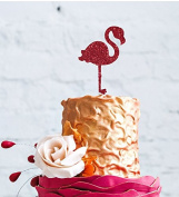 Flamingo Cake Topper - Tropical Summer Flamingo Cake Topper - Large