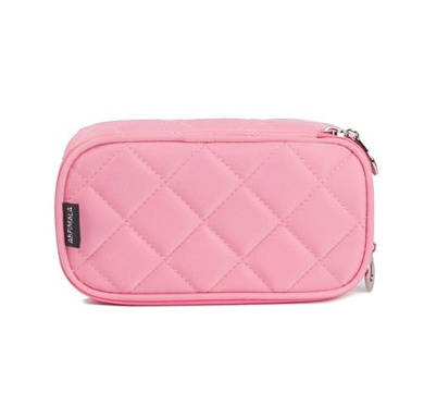 Cosmetic Bags Makeup Bag Women Travel Organizer Professional Storage Brush Necessaries Make Up Case Beauty Toiletry Bag Pink Color