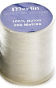 Merlin Clear Invisible Nylon Sewing Thread