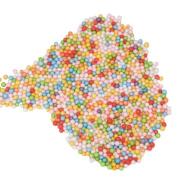 Rcool Assorted Colours Crafts Polystyrene Styrofoam Balls Mini Handmade DIY Filler Foam Beads Balls Wedding Party Decoration Balls Toy Gift