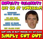 DIY - Do It Yourself Face Mask - Peter Beardsley Celebrity Face Mask