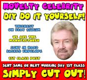 DIY - Do It Yourself Face Mask - Noel_Edmonds_2006 Celebrity Face Mask