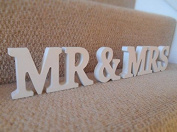 Liroyal MR & MRS Wooden Letters Wedding Decoration / Present