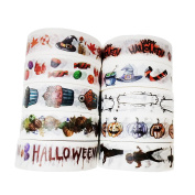 Leo's Choice 1.5cmX10m Halloween Theme Decorative Washi Tape 10pcs