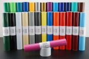 Adhesive Vinyl Glossy 30 x 300 cm Pink