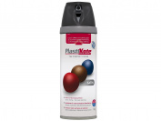 Plasti-kote 22100 400ml Premium Spray Paint Satin - Black