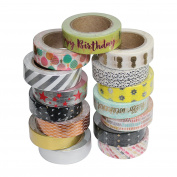 Washi Tape Sticky Paper For Creative Projects - Birthday 10m