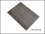 Self Adhesive Wood Designs A4 Sheet Wood Grain Sticky Back Craft DC FIX Vinyl GREY WOOD 3186