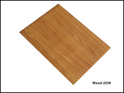 Self Adhesive Wood Designs A4 Sheet Wood Grain Sticky Back Craft DC FIX Vinyl WOOD 2236