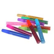 Xshelley 10 piece gel pen set-gel colour pens flash powder flash glue glitter glue