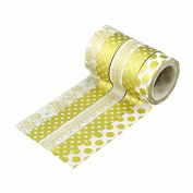 A-goo 10 Rolls Decoration DIY Craft Washi Sticker Adhesive Paper Tape