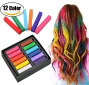 Rainbow Colour Disposable Hair Dye Crayon Temporary Hair Chalk Kit Hair Colour Pen Non-Toxic