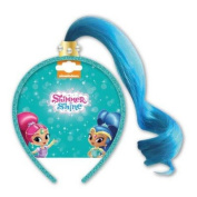 Shimmer & Shine Shine Dress Up Fake Hair Aliceband Dress Up Accessories For Girls