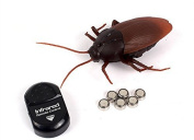 dingdangbell Remote Control Realistic Fake Cockroach RC Prank Toys Insects Joke Scary Trick Halloween Birthday Gifts