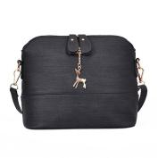 Amlaiworld Handbag, New Women Messenger Bags Vintage Small Shell Leather Handbag Casual Bag