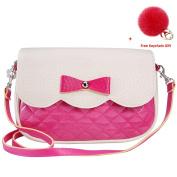 Women Shoulder Bags, Rcool Women Girls Fashion Bowknot Leather Shoulder Bag Cross Body Bag Purse Handbag Messenger Bag