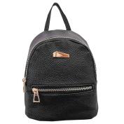 Fashion Faux Leather Mini Backpack Girls Travel Handbag School Rucksack Bag