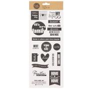 Craftwise Eclipse Kraft Stickers
