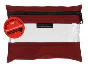 Lyle Enterprises SYSB1-CRD See Your Stuff Bag, 15cm x 20cm , Cardinal