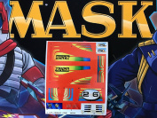 MASK vintage Firefly repro die cut stickers/decals/labels for KENNER M.A.S.K Firefly Stickers