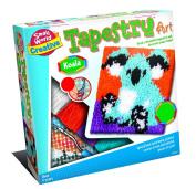 Small World Toys Koala Tapestry Art Kit, Multi-Colour, 26.41 x 26.41 x 6.85 cm