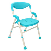 Shower chair Aluminium Alloy Foldable Bathroom Old People Non-slip Bath Chair Shower Chair Pregnant Women Shower Chair