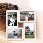 High grade wedding gift 15cm combination photo frame swing table