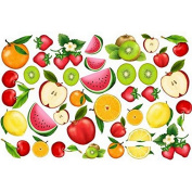 Thermoformable Rubber Foam Board, 30 x 20 cm, about Fruit
