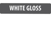 A4 White Gloss Vinyl Self Adhesive Sheet Grade A Quality, Craft Robo Silhouette Cameo