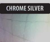A4 Chrome Silver Vinyl Self Adhesive Sheet Grade A Quality, Craft Robo Silhouette Cameo