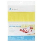 Silhouette Double-Sided Adhesive for use with Glitter etc - 8 sheets