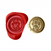 A Single TEDDY BEAR Coin Seal XWSC078