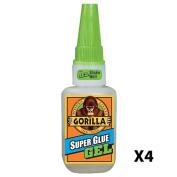 Gorilla 4044400 15g Superglue Gel - Clear