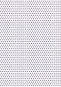 5 x A4 Medium Purple Polka Dot Card Stock, Dot Size:- Medium - PD59