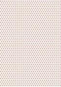 5 x A4 Salmon Polka Dot Card Stock, Dot Size:- Medium - PD3