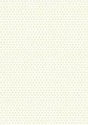 5 x A4 Pale Golden Yellow Polka Dot Card Stock, Dot Size:- Medium - PD50