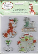 Pepper's Sing Along Clear Stamps