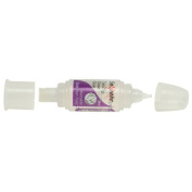 Snopake Twin Tip Clear Adhesive Glue 28ml - For Paper, Card, Art & Craft 13912