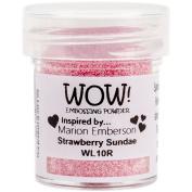Wow Embossing Powder 15 ml Strawberry Sundae - Regular
