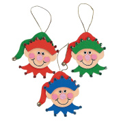 Elf Ornament Craft Kit - Crafts for Kids & Ornament Crafts