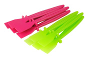 Proops 10 Plastic PVA Glue Spreaders 5 x Pink & 5 x Green (S7300). Free UK Postage