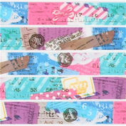 cute colourful stamp letter deco tape sticky tape