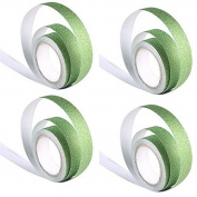 Bihood Paper Tape Decorative Masking Tapes Masking Tape Masking Tape Dispenser Fine Line Masking Tape Paper Tape Crafts Handmade Album Flash Glitter Tape Masking Tape