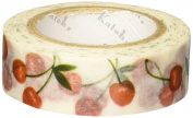SEAL-DO Shinzi Katoh Washi Masking Tape, Cherry2