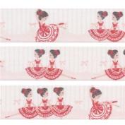 white red ballerina Washi Masking Tape deco tape Shinzi Katoh Japan