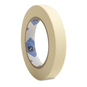 Sparco Products Economy Masking Tape, 7.6cm Core, 1.9cm x 60 Yds, Natural Kraft
