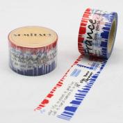 France Paris Travel Washi Tape, Craft Decorative Tape
