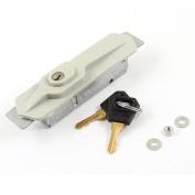 Grey Shell Roller Shutter Door Lock 11cm for Store Warehouse Garage