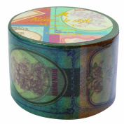 Vintage label Aimez le style Japanese Washi Tape 38 mm x 10 m extra wide tape